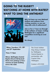 The Great Anthem Sing-Along
