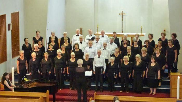 Capital Choir singing at SingFest 2014